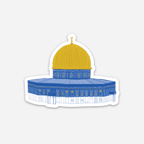 Palestinian Dome of the Rock Sticker