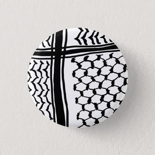 Kuffiyeh Button Pin