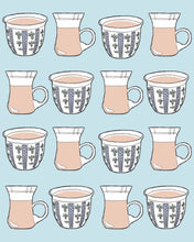"Load image into Gallery viewer, Palestinian ""Coffee and Tea"" Print"