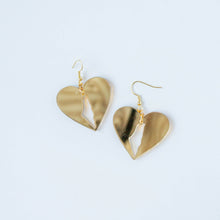 Load image into Gallery viewer, Palestine Love Earrings (Gold)
