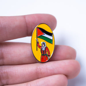 Palestinian Woman's Revolution Pin