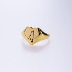 The Palestine Signet Ring (Gold)