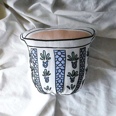 Palestinian Coffee Cup Pillow (Pastel)