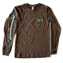 Load image into Gallery viewer, Imagine Palestine After Liberation Long Sleeve Shirt (Heather Brown)