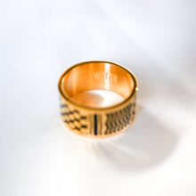 Load image into Gallery viewer, Watan Kuffiyeh Ring (Gold)