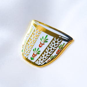 Arabic Coffee Cup Enamel Pin