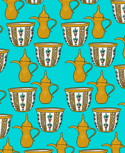 Load image into Gallery viewer, Pop 100% Arabic Coffee Print (Choose Your Color)