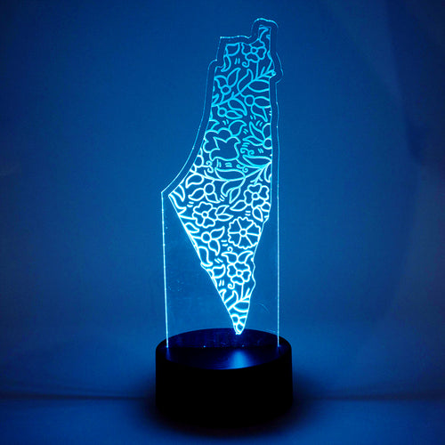 Palestinian Khalili Ceramic LED Night Light
