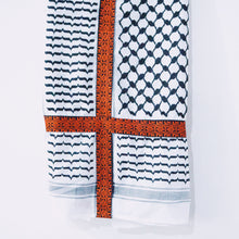 Load image into Gallery viewer, Tatreez Kuffiyeh Scarf
