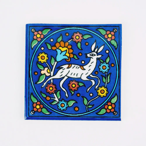 Khalili Ceramic Gazelle Tile