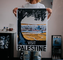 "Load image into Gallery viewer, Reclaimed ""Visit Palestine"" Poster"