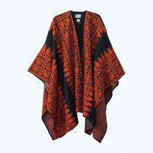 Load image into Gallery viewer, Classic Black & Red Palestinian Tatreez Robe