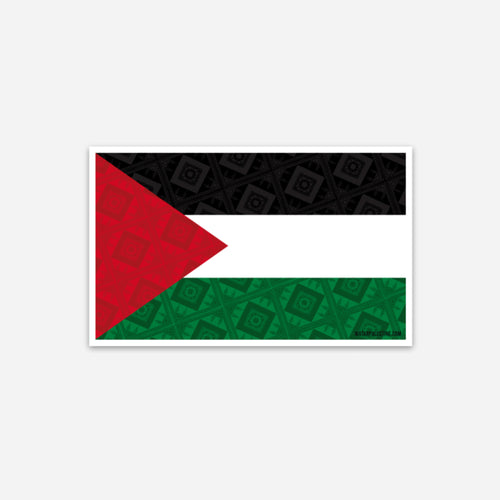 Tatreez Palestine Flag Sticker