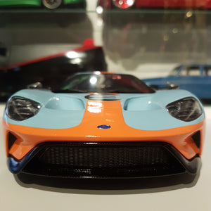 1:18 Ford GT Heritage Edition, GT Spirit, lukket model, limited