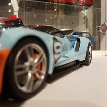 Indlæs billede til gallerivisning 1:18 Ford GT Heritage Edition, GT Spirit, lukket model, limited