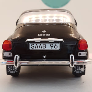 1:18 Saab 96 V4, sort, MCG, lukket model