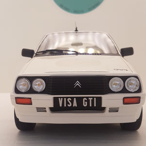 1:18 Citroën Visa GTI, Ottomobile, hvid, lukket model, limited
