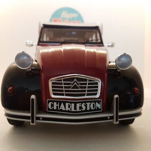 1:12 Citroën 2CV Charleston, 1978, Z-Models, delvis åben model, limited