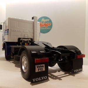 1:18 Volvo F12, hvid/blå, Road Kings, limited