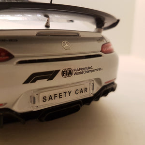 1:18 Mercedes-AMG GT R Safety car , Formula 1 - 2019, org. MB, limited 1.000 stk.