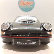 Indlæs billede til gallerivisning 1:18 Porsche 911 Carrera RS, Welly, sort, åben model