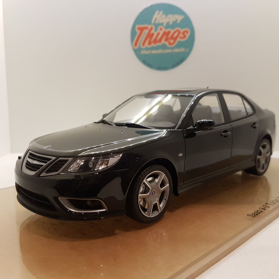 1:18 Saab 9-3 Turbo X, DNA Collectibles, 2008, sort, limited