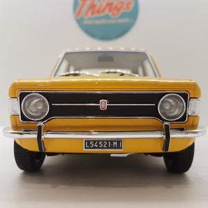 1:18 Fiat 128, Laudoracing 1969. karrygul, limited