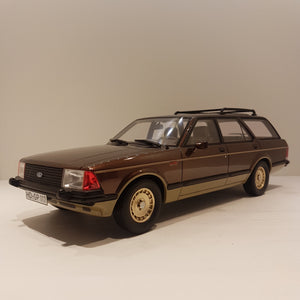1:18 Ford Granada MKII st.car, brunmetallic, BoS Models, lukket model, limited
