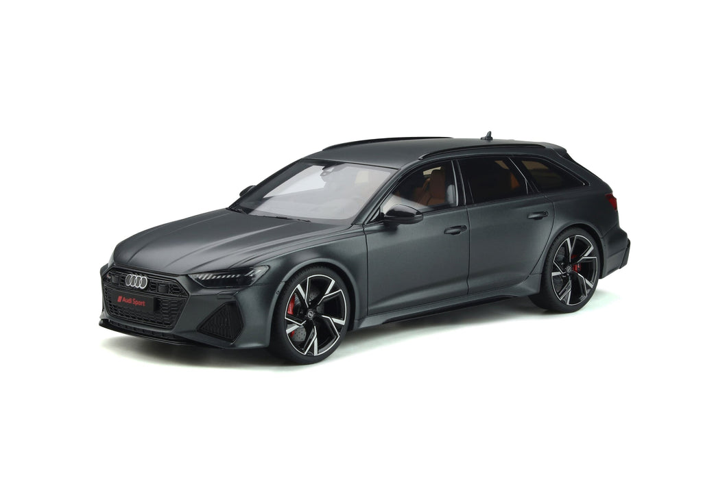 1:18 Audi RS6 Avant C8, 2020, Mat Daytona Grey, GT Spirit, GT289, limited, lukket model