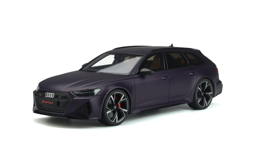 1:18 Audi RS6 Avant, Merlin Purple Matte, GT825, GT Spirit, limited, lukket model