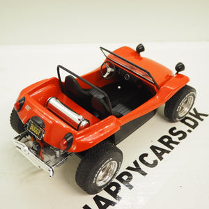 1:18 Meyers Manx Buggy, 1968, rødmetal, Solido, lukket model