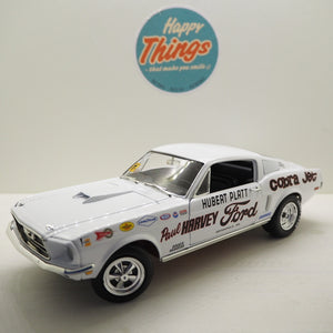 1:18 Ford Mustang 2+2 Cobra Jet 1968, Autoworld, limited, åben model