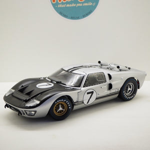 1:18 Ford Shelby GT40 MKII 7.0L V8, Team Alan Mann Racing Ltd., #7 24h Le Mans, Shelby Collectibles, åben model