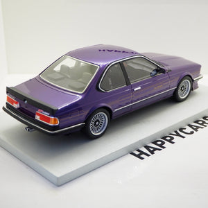 1:18 BMW 6-serie Alpina B7 S Turbo, blåmetal, LS Collectibles, limited 250 stk., lukket model