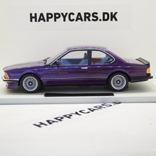 Indlæs billede til gallerivisning 1:18 BMW 6-serie Alpina B7 S Turbo, blåmetal, LS Collectibles, limited 250 stk., lukket model