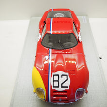 Indlæs billede til gallerivisning 1:18 Alfa Romeo TZ2 Coupé, #82 Nürburgring 1967, Trosh, TechnoModels, lukket model, limited