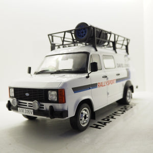 1:18 Ford Transit MK2, David Jones, med tagbagagebærer, IXO, lukket model