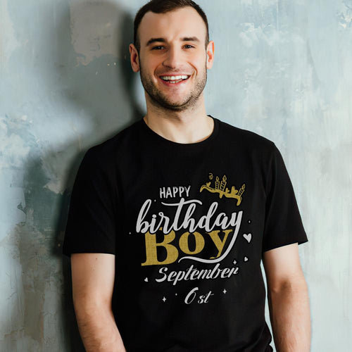 Custom Face Personalized T-shirt - The Birthday