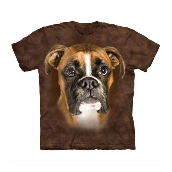 Unisex 3D Graphic Dog T-Shirt - Begging Boxer