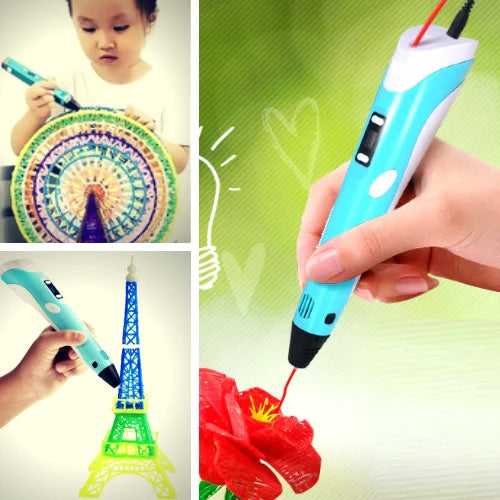 3D Pen The Best 3D Printing Pen With 10+Meters Filament