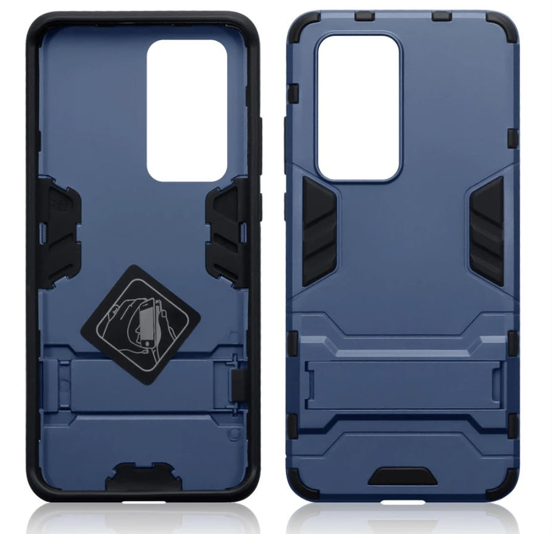 Huawei P40 Pro Dual Layer Armour Case with Stand
