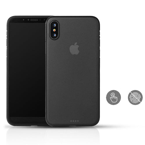 iPhone X ultra thin phone case Black