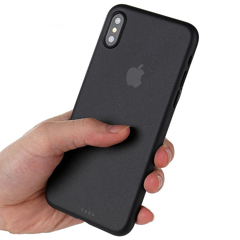 iPhone X phone case Black with USB data cable