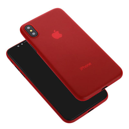 iPhone X shockproof phone case   Red