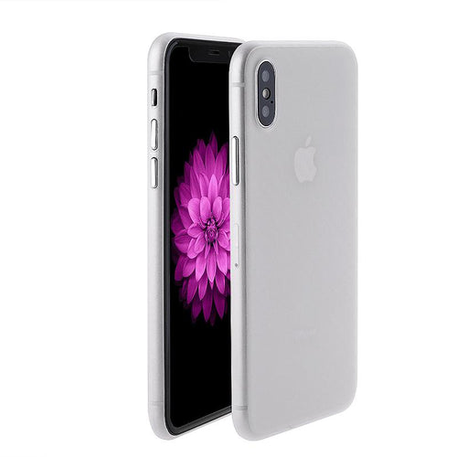 iPhone X ultra thin phone case White