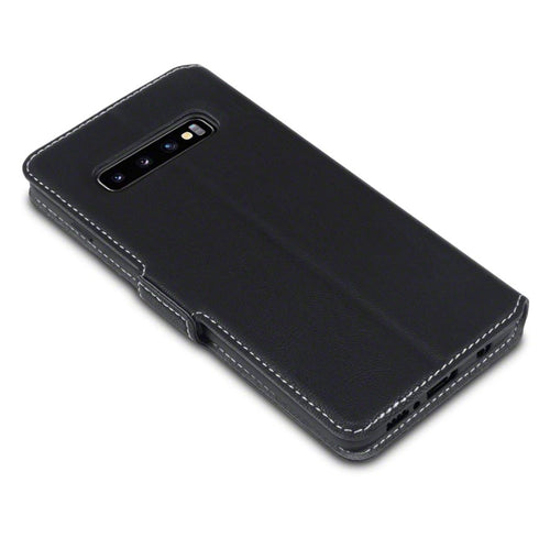 Samsung Galaxy S10 TPU Leather Wallet Phone Case