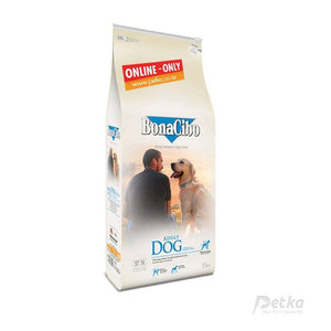 BonaCibo Premium Adult Dog Food - 15 Kg - Petka-Your Pet's Favourite