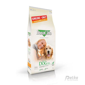 BonaCibo Premium Lamb Adult Dog Food - 15 Kg - Petka-Your Pet's Favourite