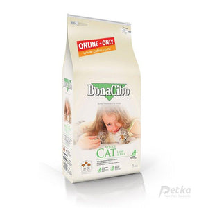 BonaCibo Premium Adult Lamb Cat Food - 5 Kg - Petka-Your Pet's Favourite