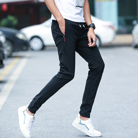 MRMT 2019 Brand Mens Fast Dry Trousers Casual Straight Men's Pants Thin Trouser Clothes Man Pants Trouser For Male Pant